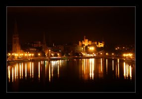 Inverness by night by the-drow