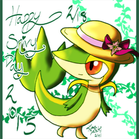 Happy Snivy Day 2015 by kiraradaisuki