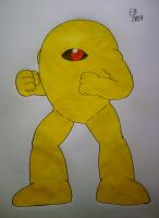 The Yellow Devil by shnoogums5060