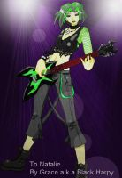 Rock Star: Buttercup by BlackHarpyGoddess