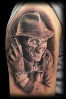 freddy krueger tattoo by ErdoganCavdar