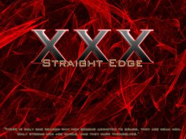 Straight Edge by XxDocHo11idayxX