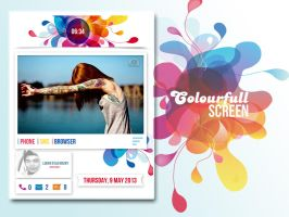 Colourfull Screen by LUK3N