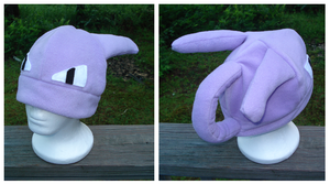 Mewtwo Hat by Allyson-x