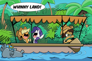 An Equestrian Jungle Yacht by JoeyWaggoner