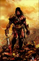 COnaN tHe BarbaRiaN by artistmyx