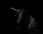 Out of the shadows Unicorn II by Hagge
