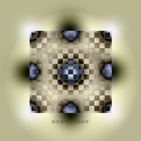 SQUARE art 1977 by oboudiart