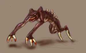 Another creature concept by Artassassin