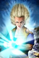 Goku from Dragonball Z by PigParadise