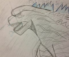 King of monsters  by Dandannible1900