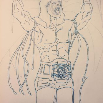 Ultimate warrior in processs by gueimcitynet