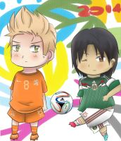 APH - World Cup 2014 Netherlands vs Mexico by Mizuka-san