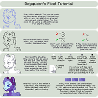 Pixel Tutorial by Dogquest