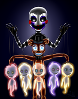 Another puppet (Five Nights at Freddy's) by ArtyJoyful