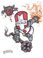 Castle Crashers Red Knight by Burke73