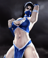 Kitana the Beautiful Edenian by LordHayabusa357