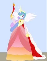 Celestia Gala Dress - Humanized by Senwyn1