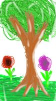 SKETCH A TREE by QuickLearner