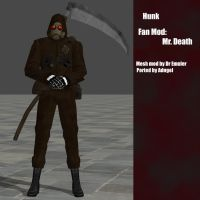 Hunk Fan Mod - Mr.Death by Adngel