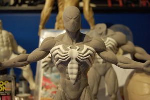 Black Spider-man Maquette by MalottPro