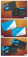 logo and business card by grazrootz