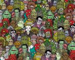 monsters - monsters - monsters by luther1000