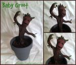 Baby Groot by CobblestoneHeart