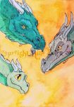 Three Generations ACEO by The-GoblinQueen