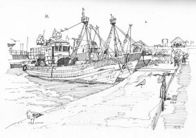 Essaouira: speed drawing by Edgeman13