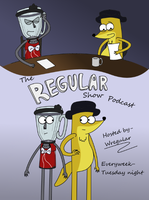 The Regular Show Podcast Poster by 10SHADOW-GIRL10