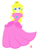 Princess Peach by rebelangel6