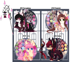 Kitsunet Greek God Adoptables (SOLD) by Miizue