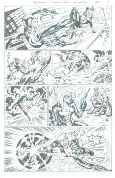 New Avengers Page 4 by 777thorman