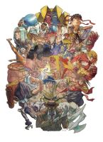 Street Fighter 3.3 Tribute by marekage