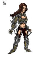 Witchblade Sketch Coloured by Cronoman66