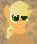 Applejack and 2000 watchers. by UP1TER