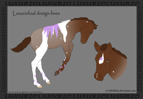 Luxurio Foal Design - Blue and Match by BV-Academy
