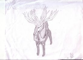 Xerneas by NancyBlackmor