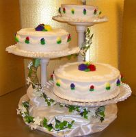 Wedding Cake 4 by zoro-swordsman