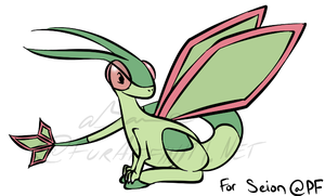 Seion's Flygon 'Gift' by aBane