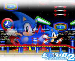 StH 2 Wallpaper Sonic Version by TokeiTime