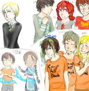 Multifandom dump HP-PJ-ETC