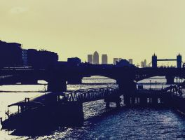 Tower Bridge and the River Thames by deepgrounduk