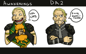 Dragon Age 2 Anders' Awakening by Fish-Box