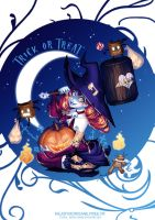 Color contest Halloween by Lowenael