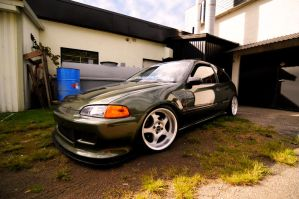 Honda Civic Showstopper by M1ch4