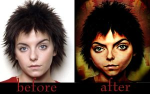 Before-after Of Mugshot by Onceuponatime13