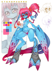 Ctenophorae - Visual Reference by Slugbox