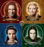 The Hogwarts founders by Lilta-photo